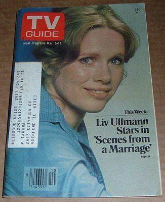 1977 Wisconsin Tv Guide Milwaukee Listings Liz Ullman Rockford Files