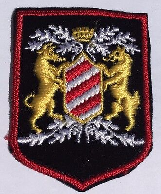 "Coat of Arms Patch-Lot of 2 (2 1/2"" by 3"")"
