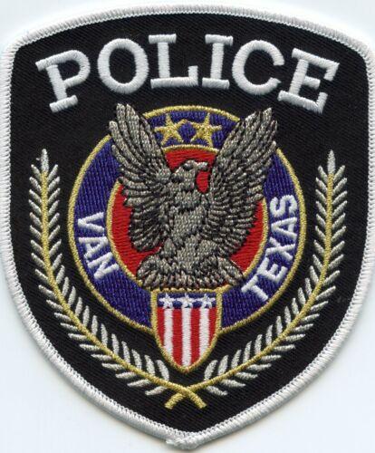 VAN TEXAS TX POLICE PATCH