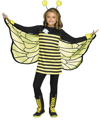 Cute Bumble Bee Halloween Costume (Bee My Honey Girls Child Cute Bumblebee Halloween)