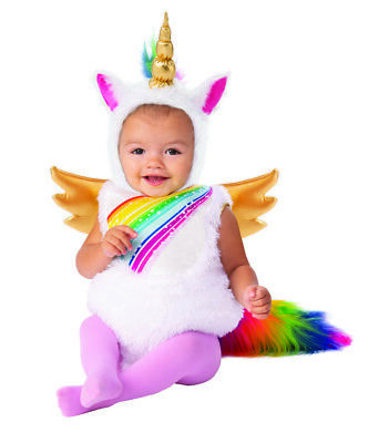 Baby Unicorn Girls Cute Mythical Creature Infant Halloween - Cute Baby Kostüm