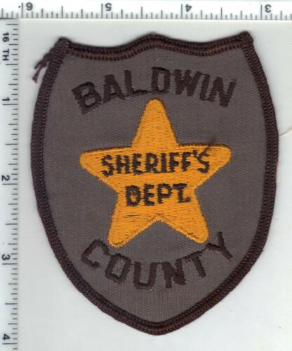 Baldwin County Sheriff (Alabama) 1st Issue Shoulder Patch