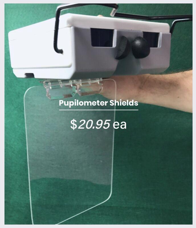 Pupilometer Safety Shield / Sneeze Guard