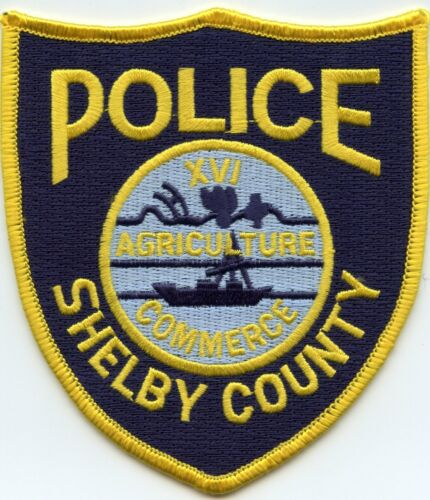SHELBY COUNTY TENNESSEE TN POLICE PATCH