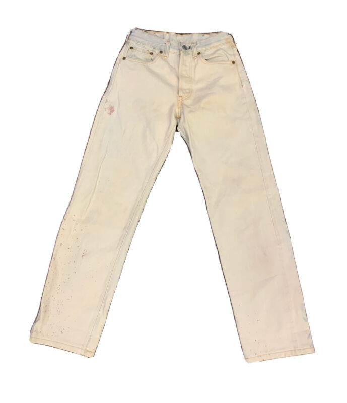 VTG Levis 501 Women's Button Fly Jeans Size 25 X 30 Made USA