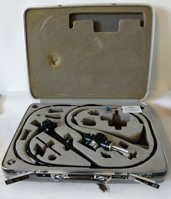 Olympus Colonoscope Endoscopy Endoscope Cf-100tl Mb-107 Includes Case