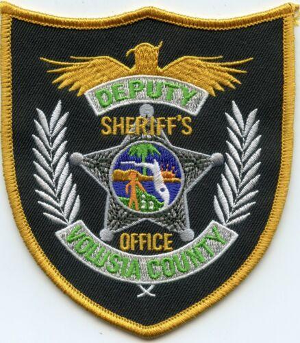 VOLUSIA COUNTY FLORIDA FL DEPUTY SHERIFF POLICE PATCH