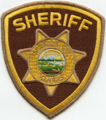 MARION COUNTY KANSAS KS SHERIFF POLICE PATCH