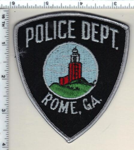 Rome Police (Georgia)  Shoulder Patch - new from 1990