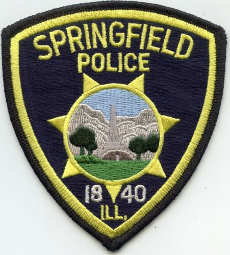 SPRINGFIELD ILLINOIS IL POLICE PATCH