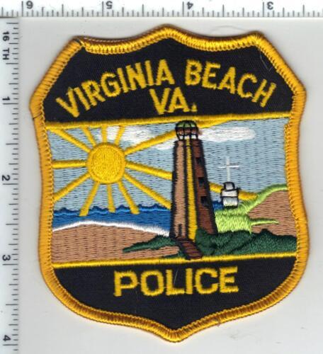 Virginia Beach Police (Virginia) Shoulder Patch from 1993