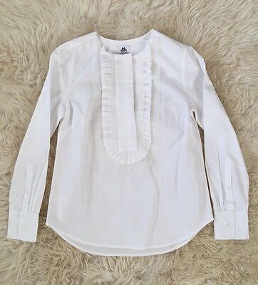 COLLECTION THOMAS MASON FOR JCREW RUFFLE-FRONT POPOVER 000 F5840 $198