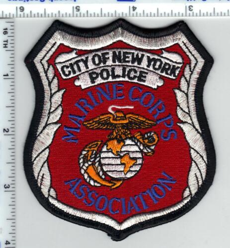 New York City Police Marine Corps Association Shoulder Patch