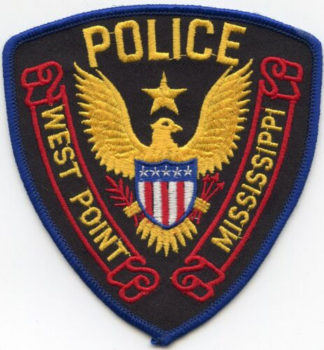 WEST POINT MISSISSIPPI MS POLICE PATCH