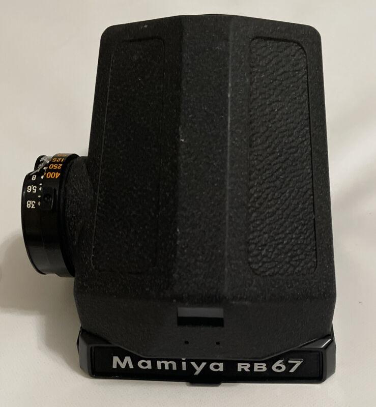 Mamiya RB67 Prism Finder