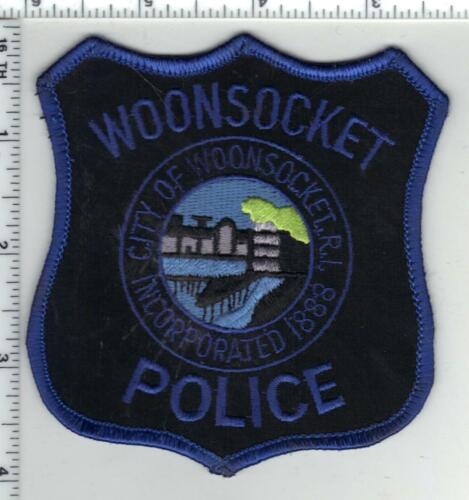 Woonsocket Police (Rhode Island) 1st Issue Shoulder Patch