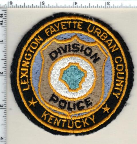 Lexington Fayette Urban County Police (Kentucky) uniform take-off patch 1998