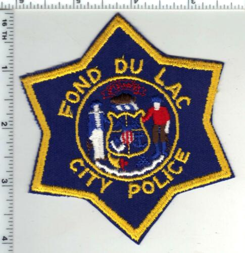 Fond Du Lac Police (Wisconsin) 1st Issue Shoulder Patch