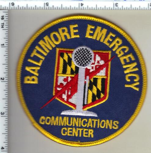 Baltimore Emergency Communications Center (Maryland) Shoulder Patch - new 1990