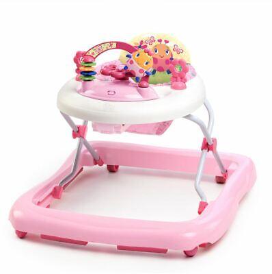 Baby Girls Walker Infant Exerciser Developmental Activity Station Pink Toy New