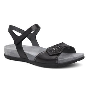 37821b3ebf18 Dansko Womens Sandals Blythe Full Grain Leather Black Size EU 39 for ...