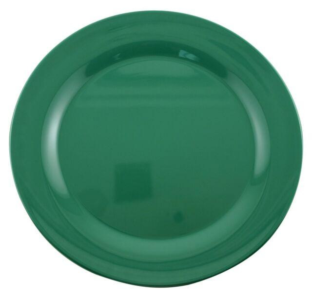 Galleyware Company Melamine Dinnerware Green 12\