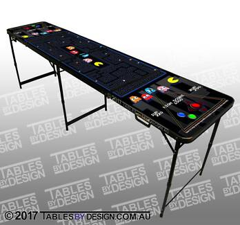 BRAND NEW Pac-Man themed Beer Pong Table $120ea Cash PickUp Lonsdale Morphett Vale Area Preview