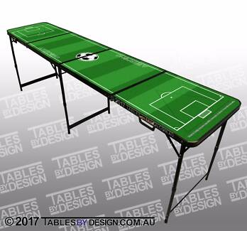 BRAND NEW Soccer Ball Beer Pong Tables ($100ea Cash Pick-Up)