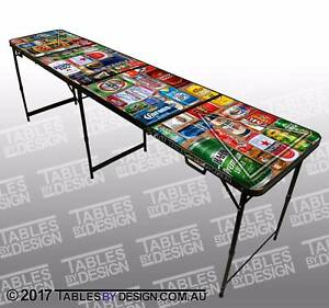 Brand New BEER CANS BeerPong Tables (Cash PickUp & Delivery Av.)