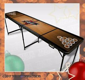 Brand New TABLE OF DREAMS Beer Pong Tables inc. 2trays &6balls Lonsdale Morphett Vale Area Preview