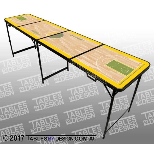 BRAND NEW Basketball Beer Pong Tables ($100.00ea Cash Pick Up)