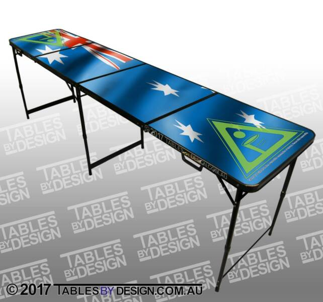 BRAND NEW Aussie Flag Beer Pong Tables ($100ea Cash Pick-Up)
