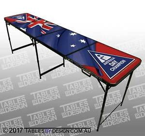 [LAST ONE] AUSSIE FLAG Beer Pong Table (Pick Up & Delivery Av.)