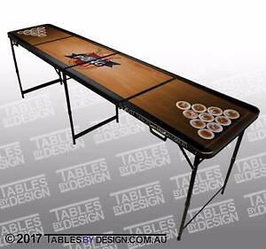 Brand New TABLE OF DREAMS Beer Pong Tables inc. 2trays & 6balls Lonsdale Morphett Vale Area Preview