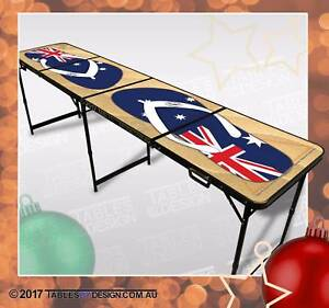 Brand New BEACH BeerPong Tables inc. 2trays, 6balls & Delivery Lonsdale Morphett Vale Area Preview