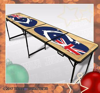 Brand New BEACH BeerPong Tables inc. 2trays, 6balls & Delivery