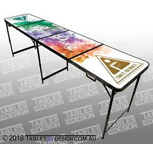 Colour Explosion Beer Pong Table BRAND NEW (Cash Pick Up) Lonsdale Morphett Vale Area Preview