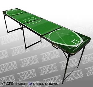 BRAND NEW Aussie Footy Beer Pong Tables ($120each Cash Pick Up)
