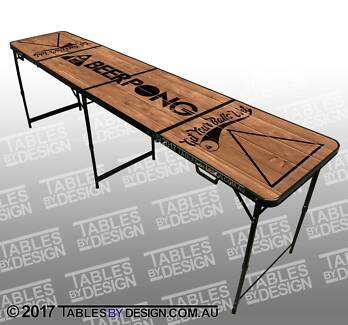 BRAND NEW Get Your Balls Wet Beer Pong Table $150ea Cash PickUp Lonsdale Morphett Vale Area Preview