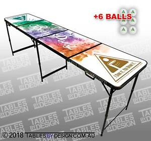 BRAND NEW Colour Explosion Beer Pong Tables ($100ea Cash PickUp) Lonsdale Morphett Vale Area Preview