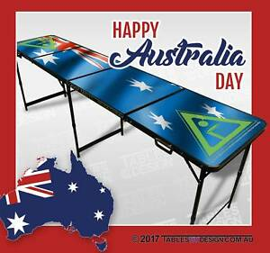 BRAND NEW Aussie Flag Beer Pong Tables ($100ea Cash Pick-Up) Lonsdale Morphett Vale Area Preview
