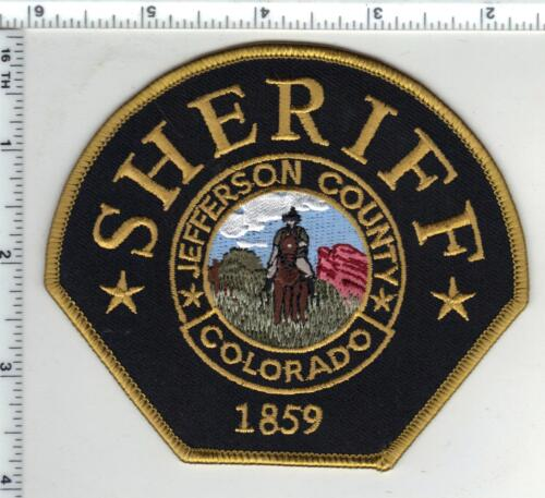 Jefferson County Sheriff (Colorado) 4th Issue Shoulder Patch