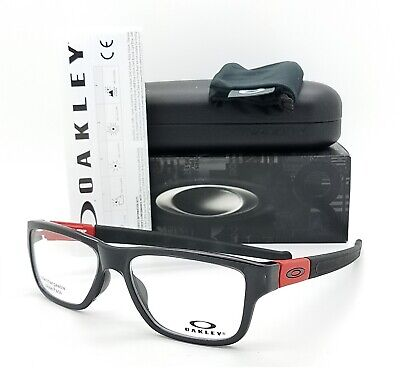 NEW Oakley Marshal MNP RX Prescription Frame Black Red OX8091-0355 AUTHENTIC