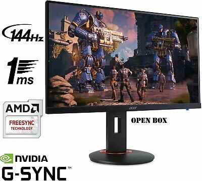 """OB: Acer XF270H Bbmiiprx 27"""" FHD AMD FreeSync 144Hz 1ms Gaming Monitor"""