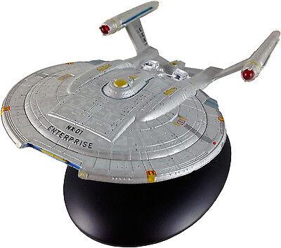 STAR TREK STARSHIPS COLLECTION ISSUE 4 USS ENTERPRISE NX-01 EAGLEMOSS MODEL