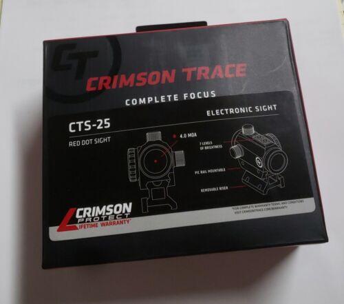CTS-25 Compact Red Dot Electronic Sight Long Guns