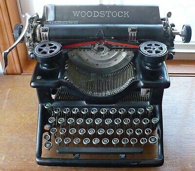 ANTIQUE 1929 WOODSTOCK NO. 5 MANUAL TYPEWRITER