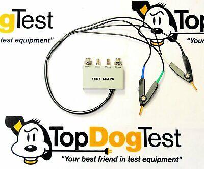 Gw Instek Lcr-06b Test Fixture 4 Wire Smdclip Sub For Hp Agilent 18089a