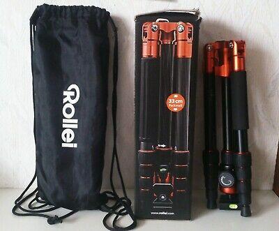 Rollei Compact Traveler No. 1 Stativ carbon Dreibein Stativkopf leicht