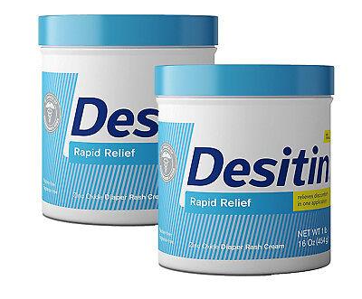 Desitin Original Rapid Relief Best Baby Diaper Rash Treatment Remedy Paste
